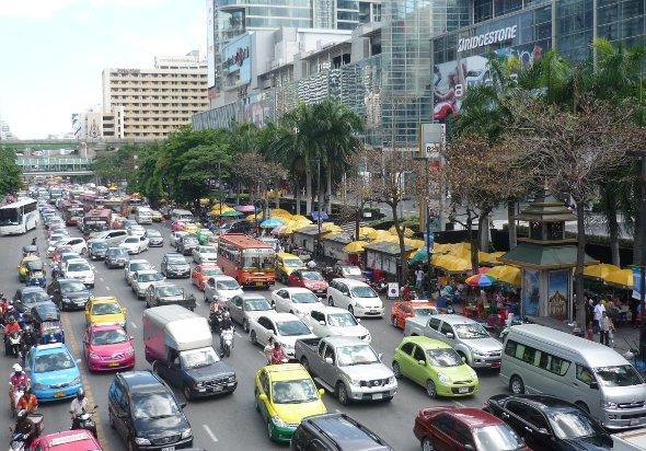 Rushour in Bangkok
