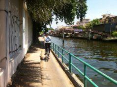 Fahrradtour entlang der Khlongs