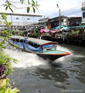 Transport auf dem Khlong