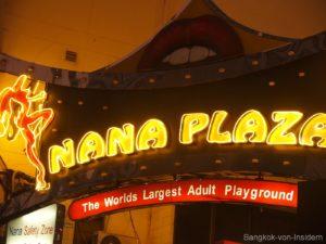 Eingang Nana Plaza