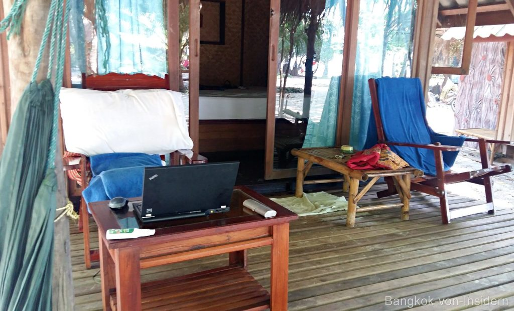 Home-Office thailändische Insel