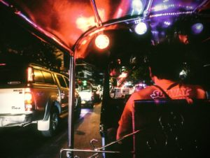 Tuk-Tuk Fahrt in Bangkok