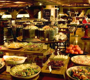 Dinner Bufett in Hotel