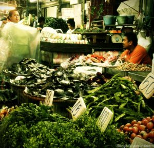 Khlong Toey Market Gemüse