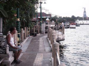 Am Chao Praya entlang