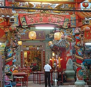 Tempel in der Chinatown