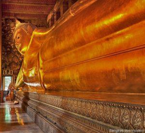 Der liegende Buddha Wat Pho