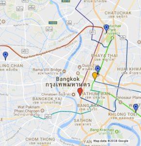 google maps Bangkok
