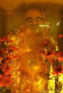 chinesische Buddha Figur