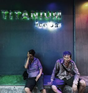 Die Titanium Ice Bar in der Soi 22