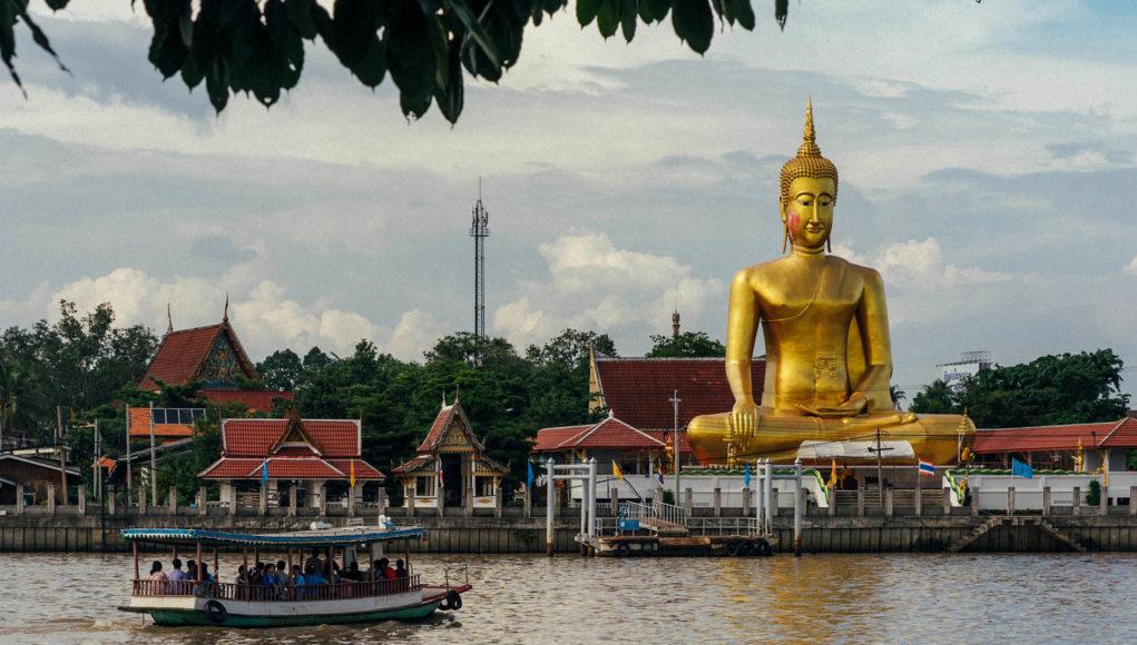 Buddha auf Ko Kret