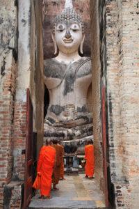 Buddha-Stautue
