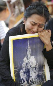 Trauer in Bangkok