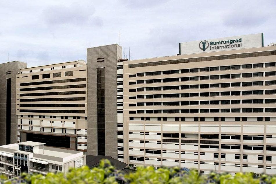 Das Bumrungrad Krankenhaus
