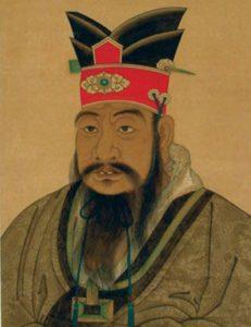 Darstellung des Konfuzius