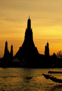 Sonnenaufgang Wat Arun