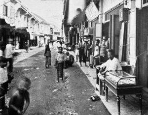 Sampeng Lane um 1900
