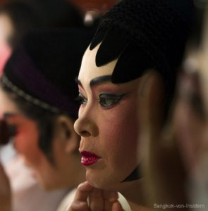 chinesische Oper in Bangkok