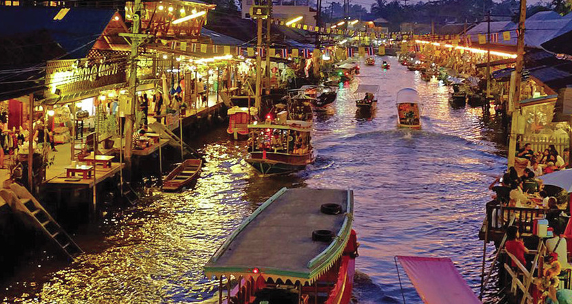 Floating Market Amphawa